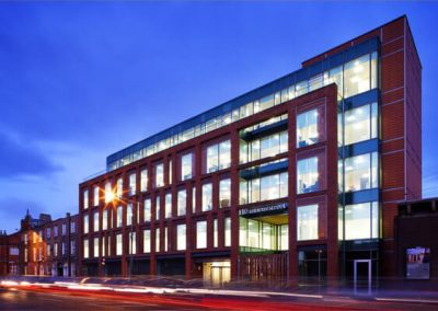 LED Lighting /Smart Building:  110 Amiens Street,  Headquarters