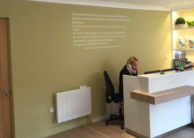 Office Refurbishment:  Portobello Dental Clinic